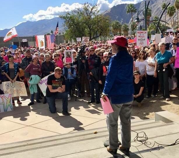 Women's Resistance March Draws Record Crowd, March 2018