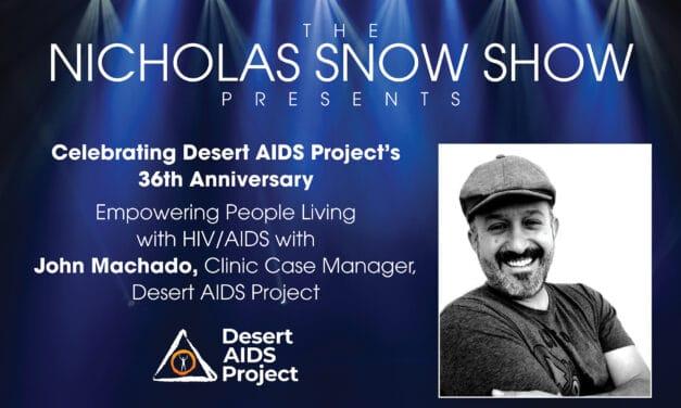 EMPOWERING PEOPLE LIVING WITH HIV/AIDS: JOHN MACHADO