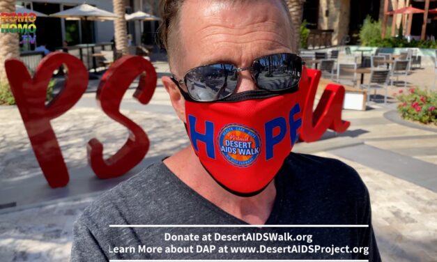 My Virtual Desert AIDS Walk 2020 Benefiting Desert AIDS Project