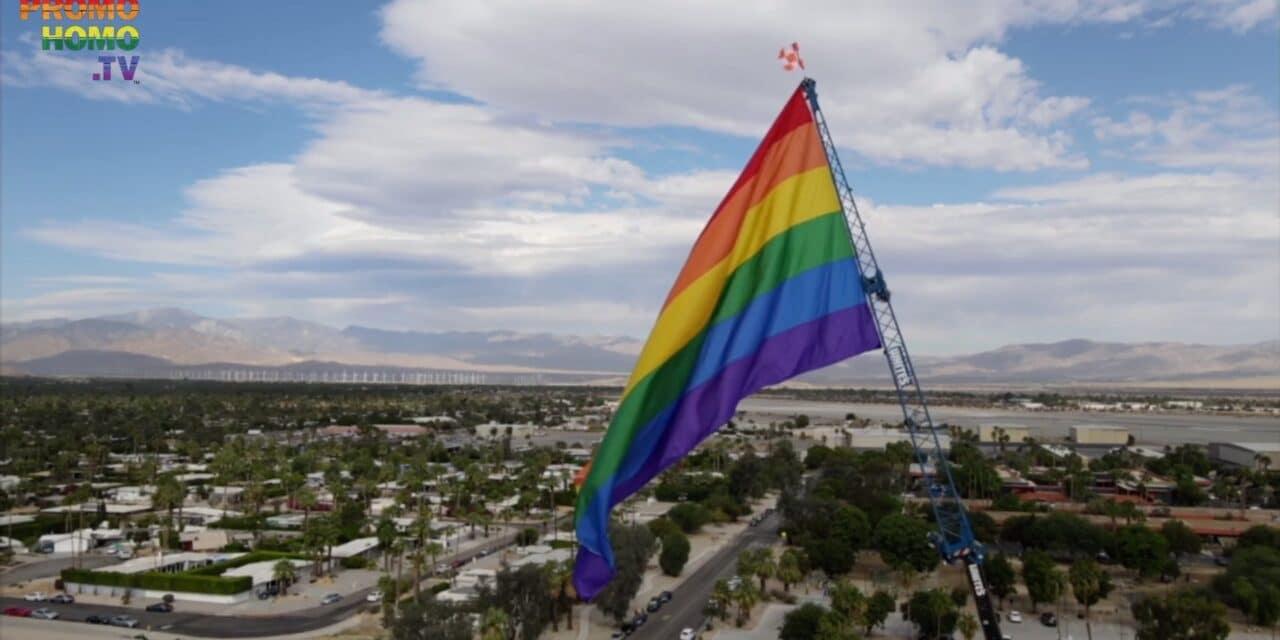 Official Flag Raising Ceremony | Palm Springs Pride 2020 | PromoHomo.TV