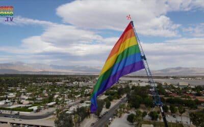 Official Flag Raising Ceremony   Palm Springs Pride 2020   PromoHomo.TV