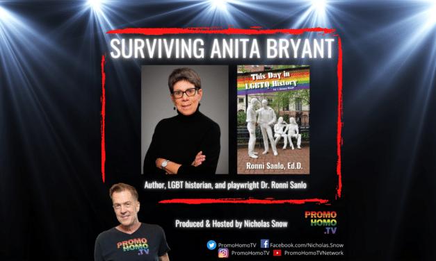 Surviving Anita Bryant: Dr. Ronni Sanlo | The Nicholas Snow Show
