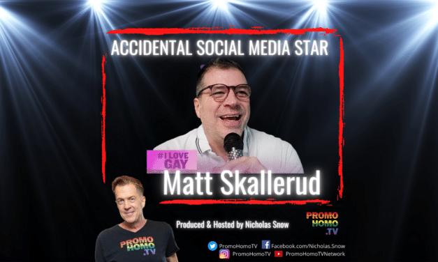 """Accidental Social Media Star: Matt Skallerud of """"I Love Gay Today"""""""