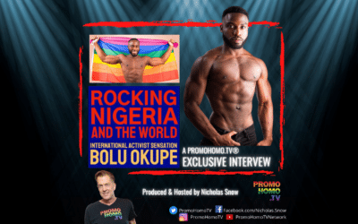 Bolu Okupe:  An Out LGBTQI+ Activist Rocking NIgeria and the World