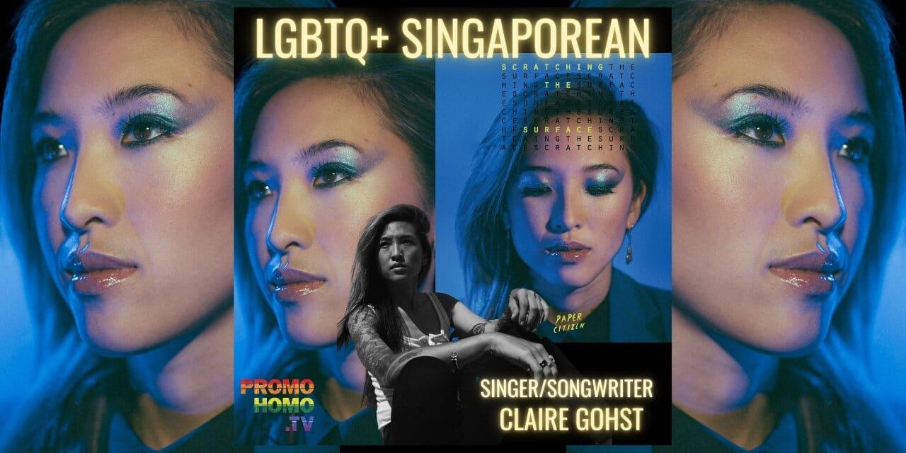 LGBTQ+ Singaporean Singer/Songwriter Claire Gohst Releases New Album: Wandering Gohst