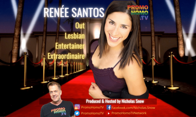 Renée Santos: Out Lesbian Entertainer Extraordinaire