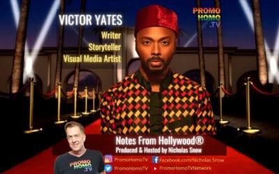 Meet Multitalented Writer & Storyteller Victor Yates
