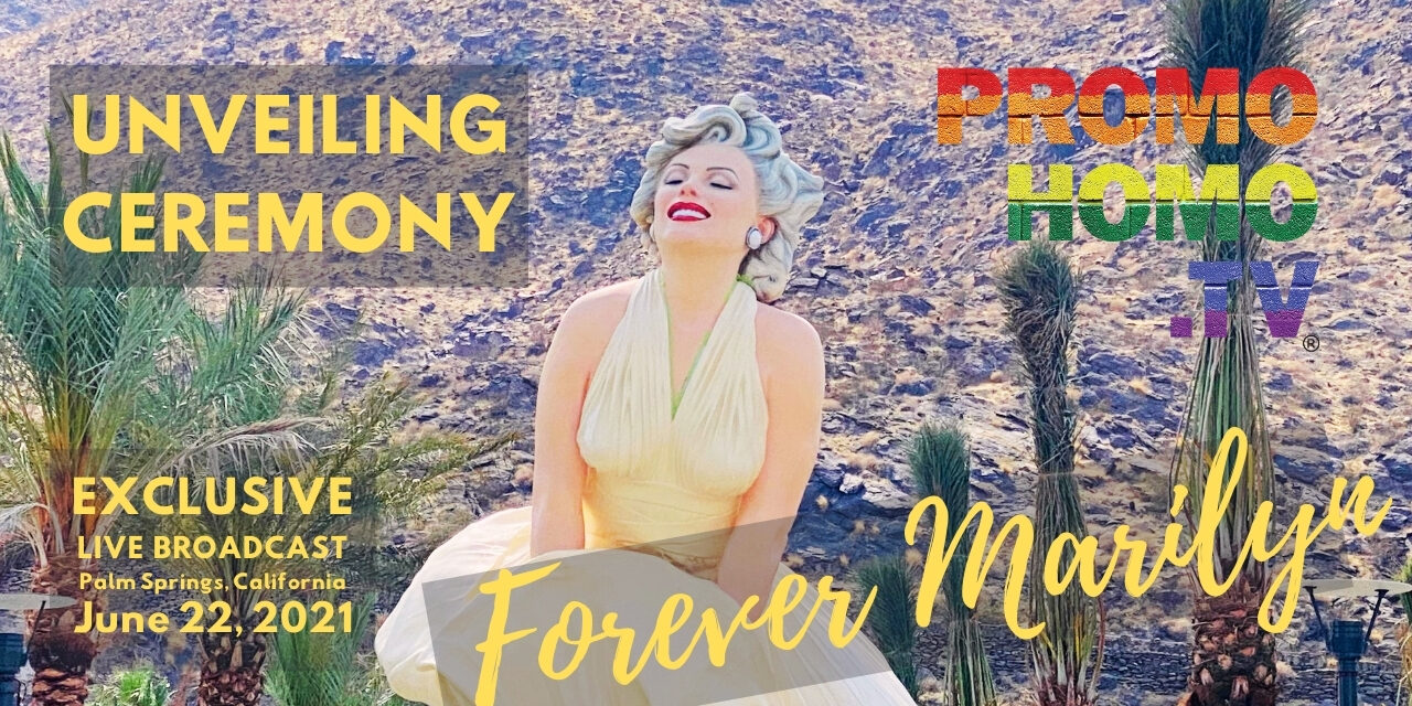 """A Live Broadcast of the """"Forever Marilyn"""" Sculpture UnveilinG 
