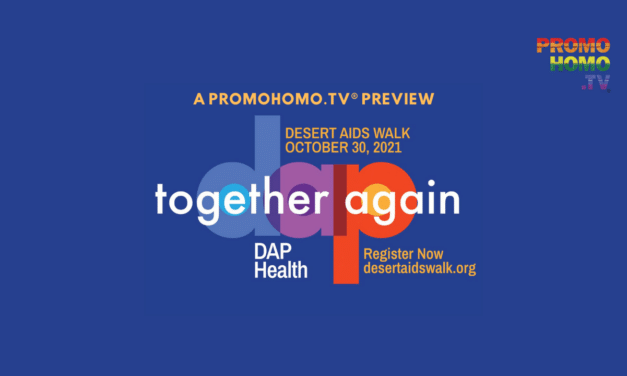 """2021 Desert AIDS Walk Themed """"Together Again"""" 