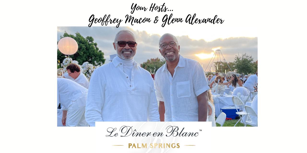 Black Gay Entrepreneurs Transform Palm Springs Social Scene with Le Dîner en Blanc